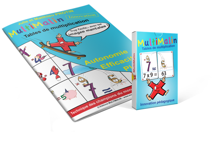 J ai d couvert la m thode multimalin psyadom - Apprentissage des tables de multiplication ...